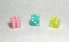 16mm Glow in the Dark Dice