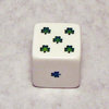 25mm Green Shamrock Dice