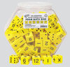 25mm Foam Math Dice - Set of 100