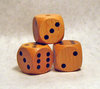30mm Wooden Dice