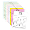 Bunco Score Sheets - Plain - Pad of 50