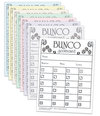 Bunco Score Sheets - Retro Design - Pad of 50