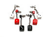 2-Dice Dangle Earrings