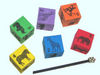 50mm Animal Foam Dice (Set of 6)