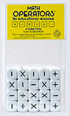 16mm Math Dice - Operators - Box of 100