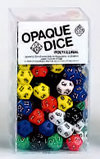 12-Sided Opaque Dice (d12) - Set of 100