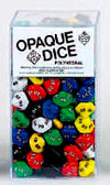 10-Sided Opaque Percentile Dice - Set of 100