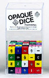6-Sided Opaque Dice (d6) - Set of 100
