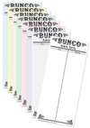 Bunco Table Tallies - Antique Design - Pad of 50