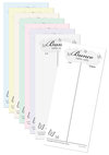 Bunco Table Tallies - Spring Theme - Pad of 50